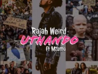 Rajah Weird – Uthando ft. Mzamo mp3 download